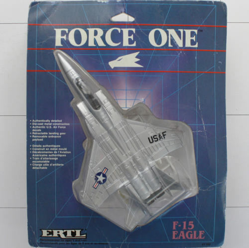 F-15 Eagle, Die-Cast Metal, Ertl