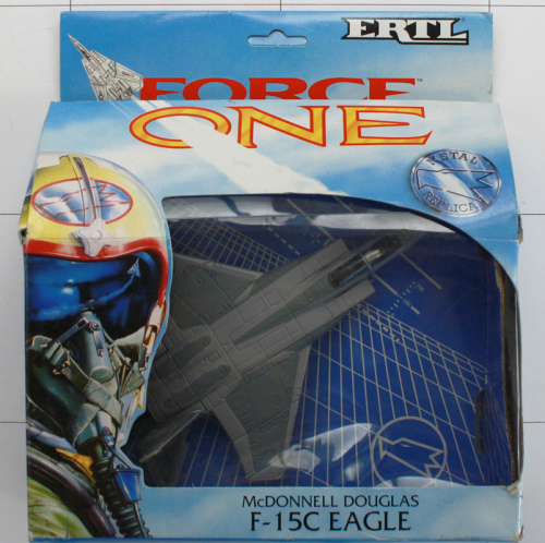 F- 15C Eagle, Die-Cast Metal, Ertl