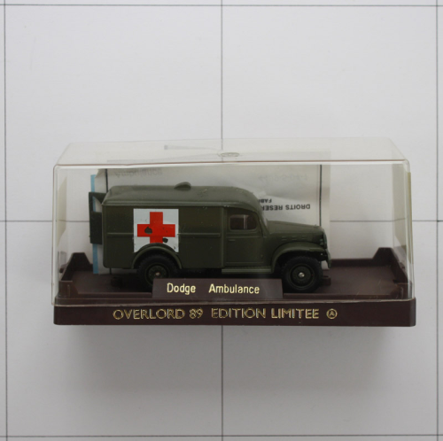 Dodge Ambulanz, Die-Cast Metal,Solido