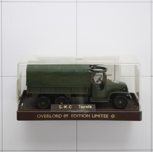 G.M.C. Tourelle, Die-Cast Metal,Solido