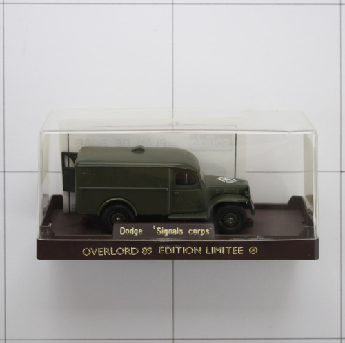 Dodge WC 54 Signals Corps, Die-Cast Metal,Solido