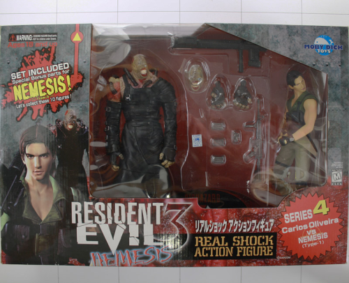 Carlos Oliveira Vs Nemesisbr Resident Evil 3 Biohazard Moby