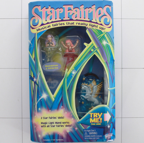 Star Fairies, Feen, Licht und Sound <br />Galoob
