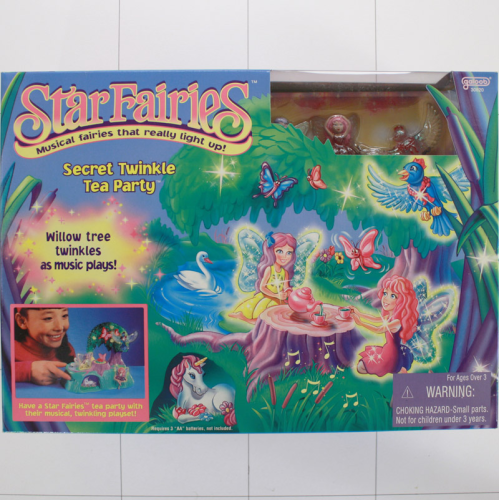 Star Fairies, Feen, Licht und Sound, Secret Twinkle, Tea Party, Galoob