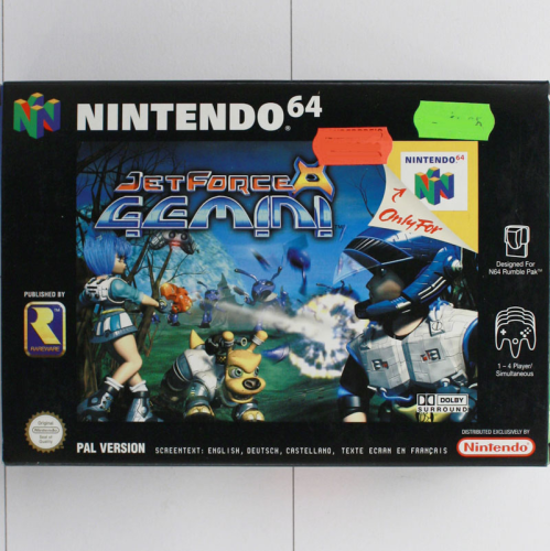 Jet Force Gemini - N64