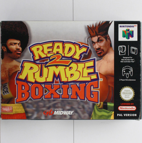Ready Rumble Boxing 2 - N64