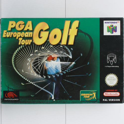 PGA Golf European Tour - N64