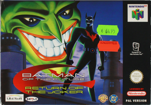 Batman of the Future - N64