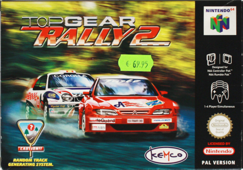 Top Gear Rally 2 - N64