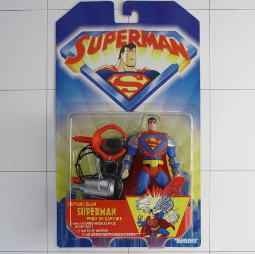 figurine superman capture claw pince de capture kenner 1997