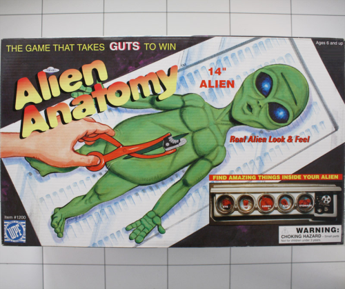 Alien Anatomy, WPF, Real Alien Look & Feel