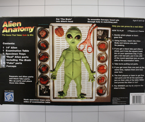 Alien Anatomy, WPF, Real Alien Look & Feel - Kuschel-Muschel
