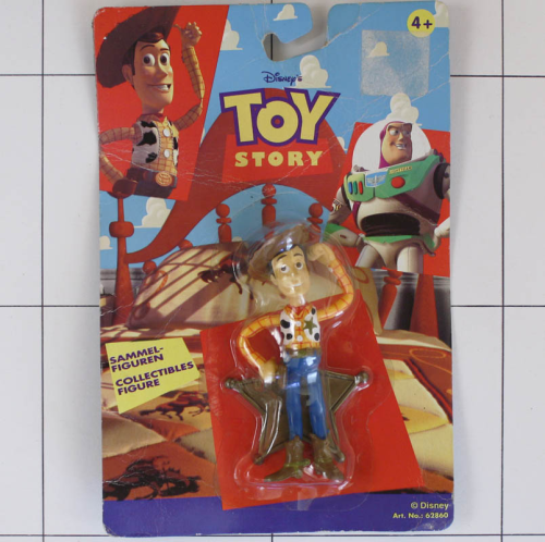 Woody, Toy Story, Disney <br />Thing Way, Biegefigur, Bendable