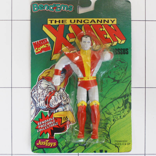 Colossus, Marvel X-Men, Justtoys, Biegefigur, Bendable