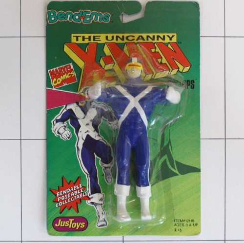 Cyclops, Marvel X-Men, Justtoys, Biegefigur, Bendable