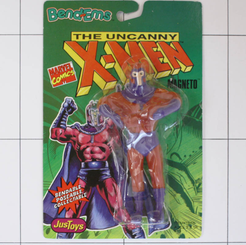Magneto, Marvel X-Men, Justtoys, Biegefigur, Bendable