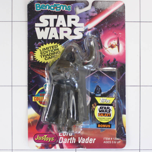 Darth Vader, Star Wars <br />Justoys, Set Biegefigur, Bendable