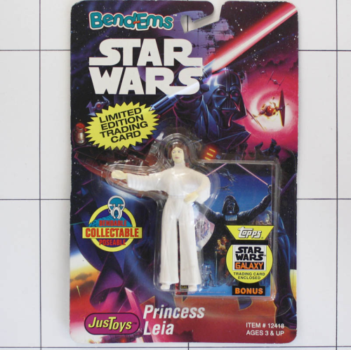 Princess Leia, Star Wars <br />Justoys, Set Biegefigur, Bendable