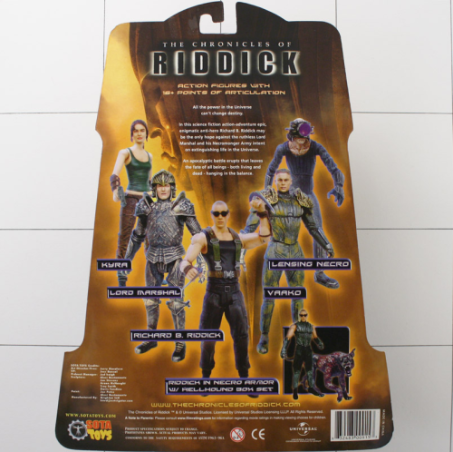 Lord Marshal Figure Sota Toys Chronicles Of Riddick Series 1