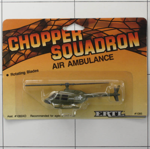 Air Ambulance, Die-Cast Metal, Ertl