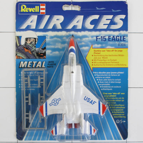 F-15 Eagle, Die-Cast Metal, Revell