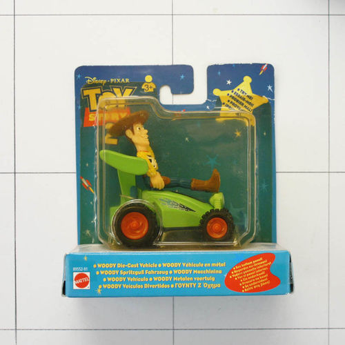 Woody, Toy Story 2, Die-Cast Metal, Mattel