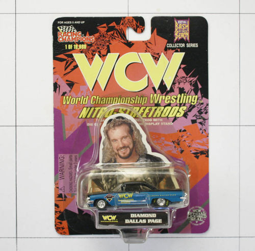 WCW,  Diamond Dallas Page, Nitro Streetrods, Die-Cast Metal, Racing Champions