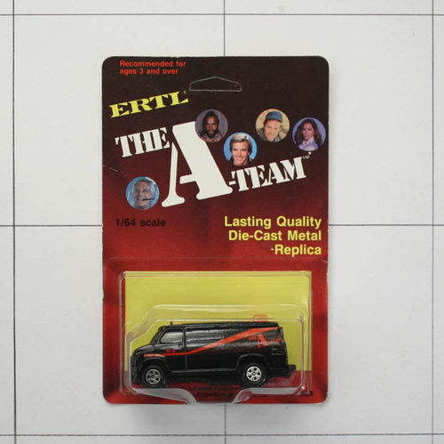 A-Team Van, Die-Cast Metal, Ertl