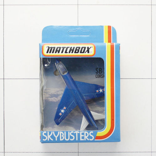 Corsair A7D, Skybusters, Die-Cast Metal, Matchbox