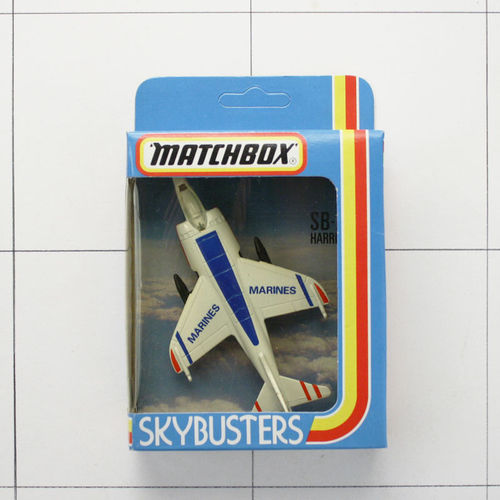 Harrier, Skybusters, Die-Cast Metal, Matchbox
