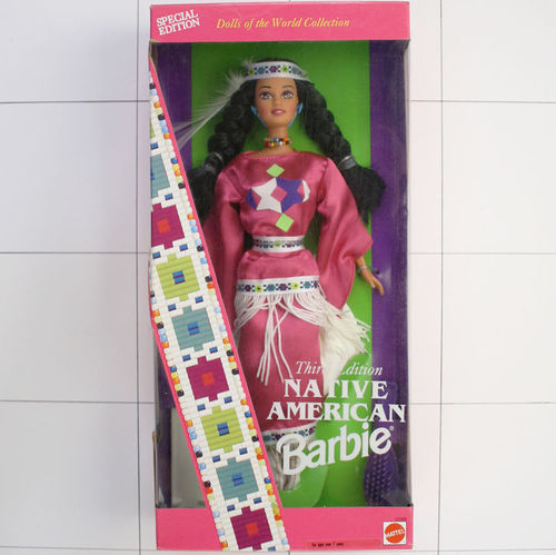 Native American Barbie, Third Edition, Special Edition