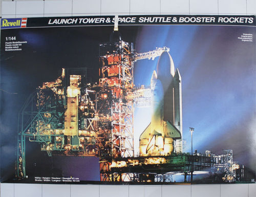 Launch Tower & Space Shuttle, Revell 1:144