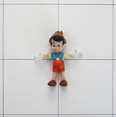 Pinocchio, Disney, Justoys, Biegefigur, Bendable