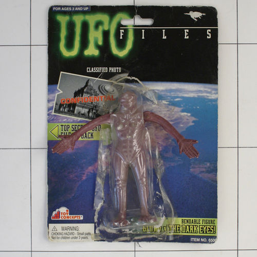 Abductor, UFO, Toy Concepts, Biegefigur
