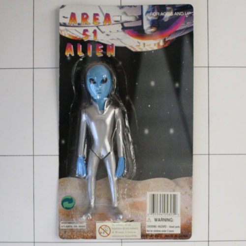 Alien, Area 51, Made in China