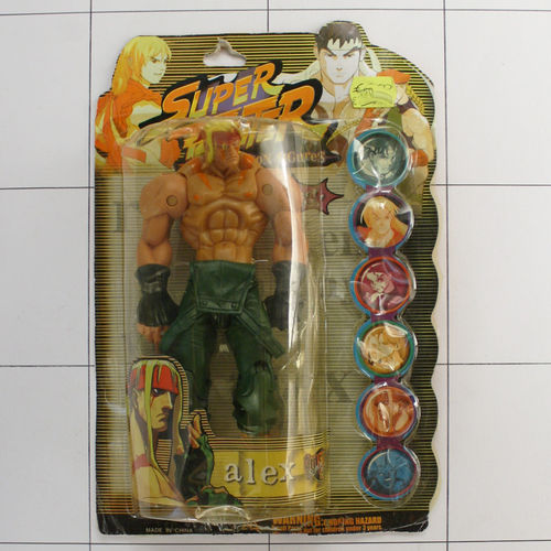 Alex, Super Fighter, Bootleg, Made in China